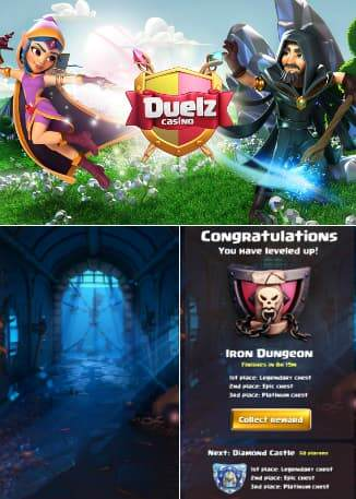 Duelz Casino gamification