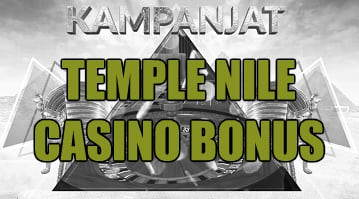 Temple Nile casino bonus